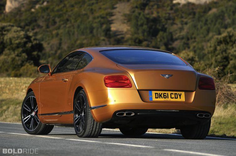 2013 Bentley Continental GT V8 luxury supercar r wallpaper