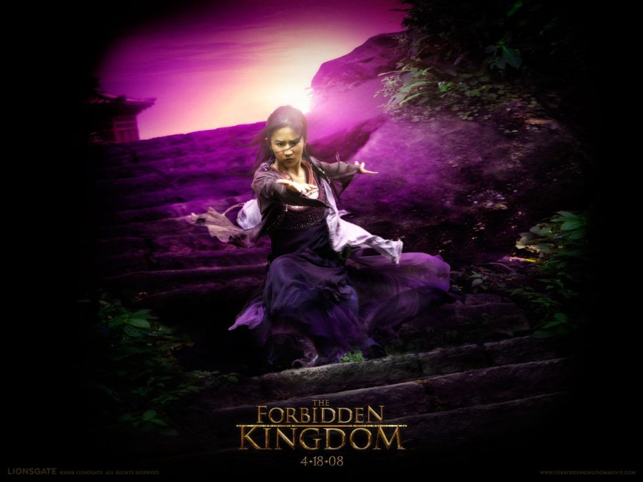The Forbidden Kingdom movie martial arts action adventure wallpaper