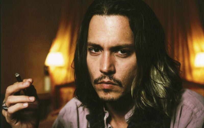 Johnny Depp actor sexy celebrity movies wallpaper