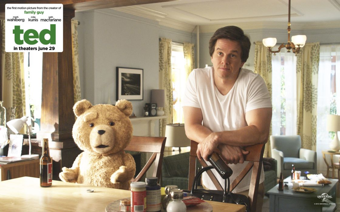 Ted movie wark wahlberg teddy bear movies wallpaper