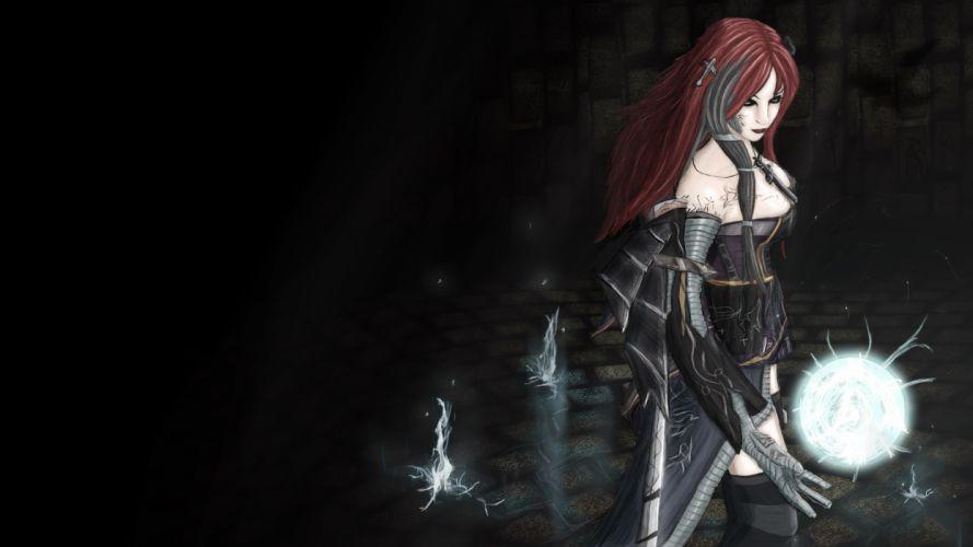League of Legends Ahri fantasy f wallpaper