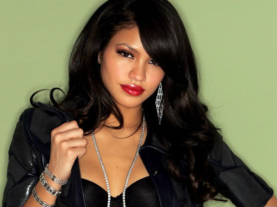 Cassie Ventura singer actress women females girls models brunettes sexy babes face eyes pov       c wallpaper