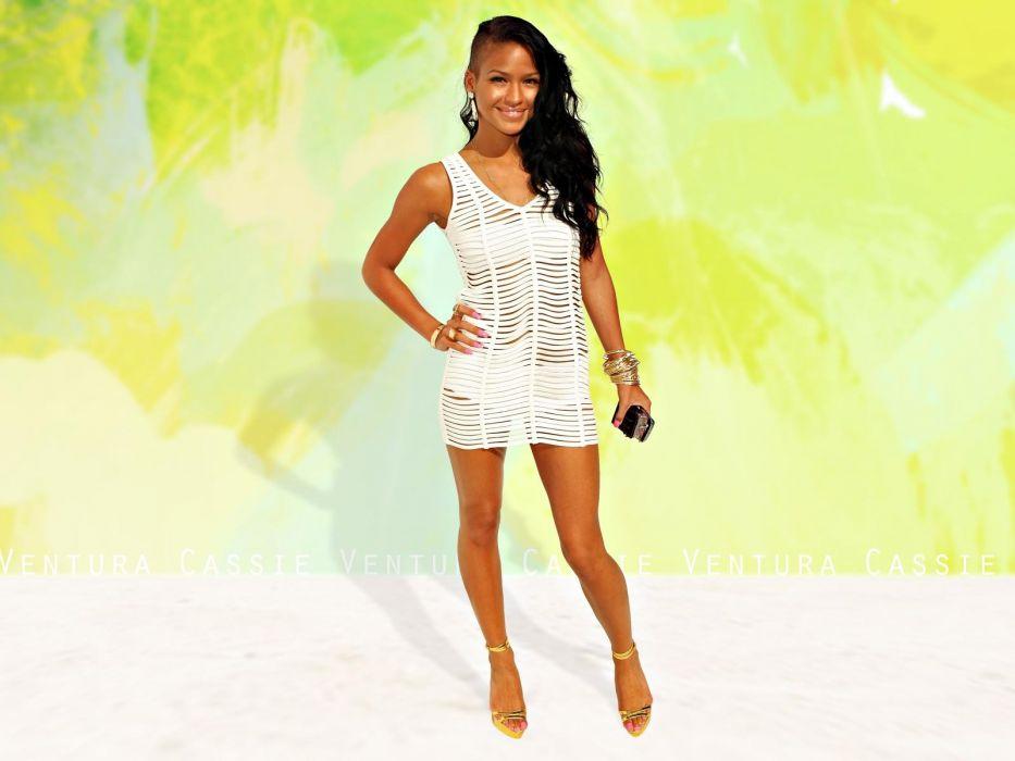 Cassie Ventura singer actress women females girls models brunettes sexy babes face eyes pov       u wallpaper