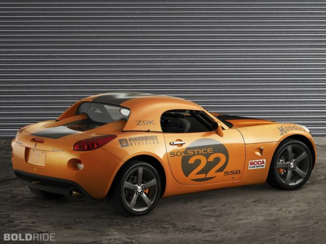 2006 Pontiac Solstice Club Sport Z0K race cars tuning t wallpaper