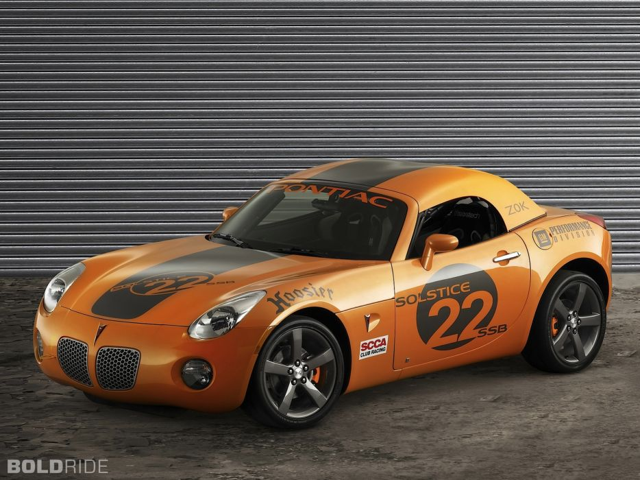 2006 Pontiac Solstice Club Sport Z0K race cars tuning wallpaper