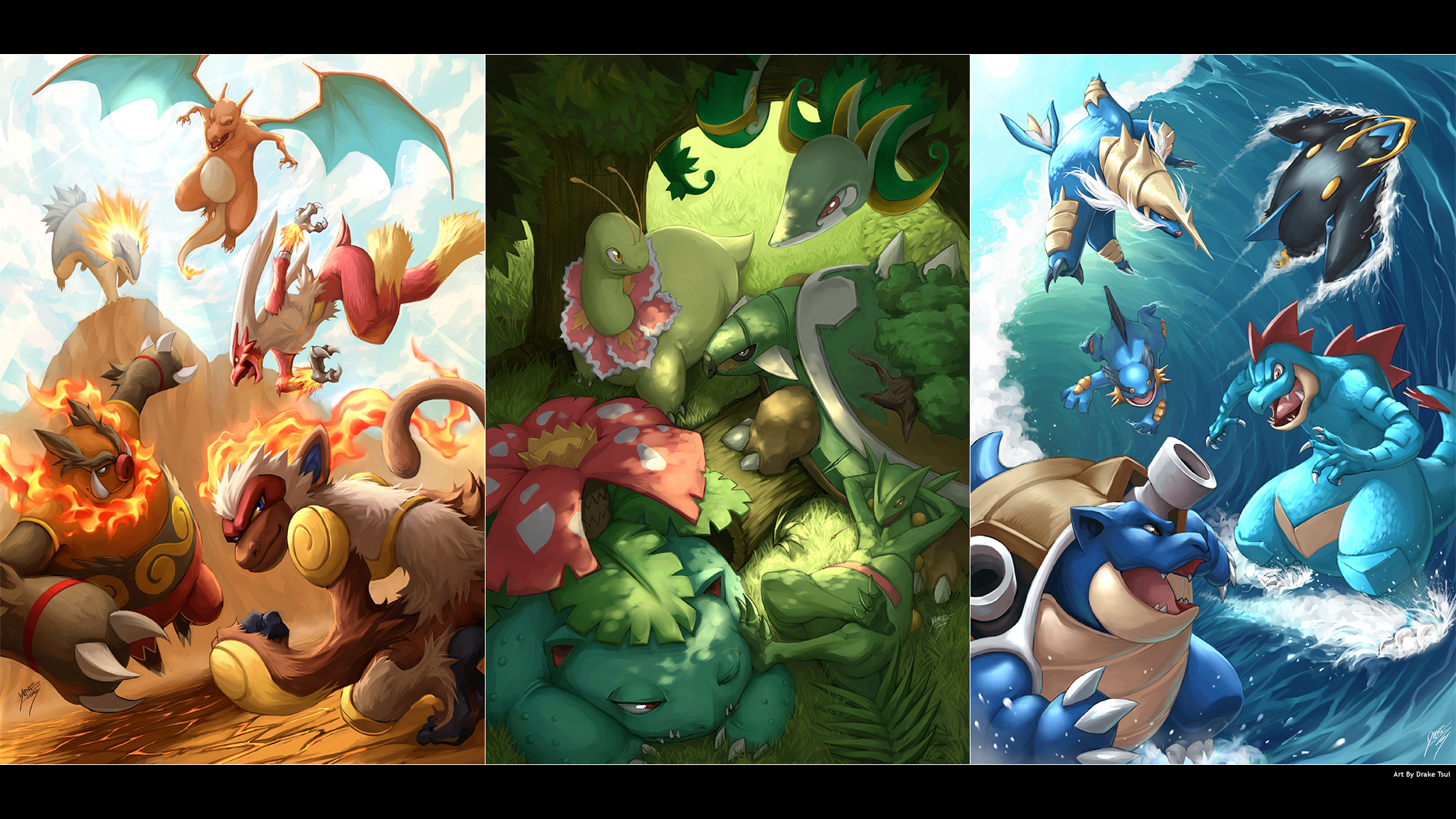 Pokemon Pictures That Are 2048 By 1152 Pixels: Pokemon Wallpaper