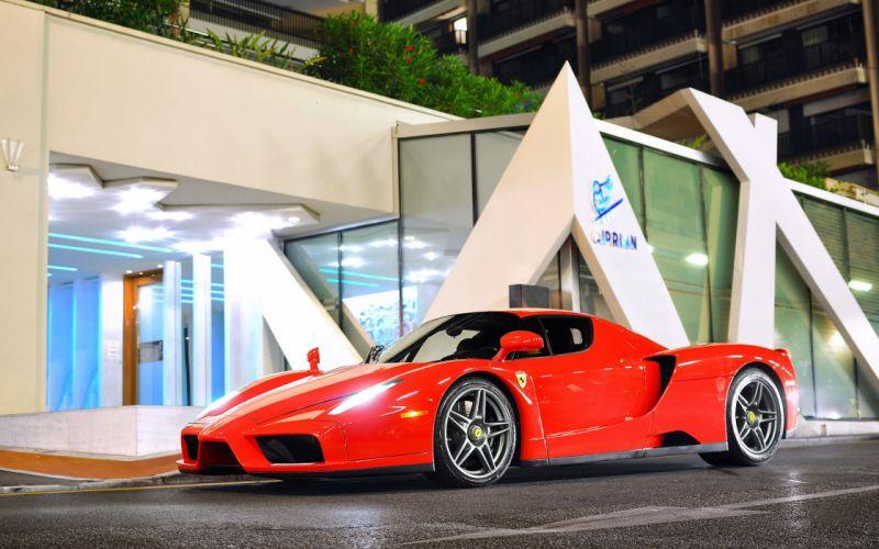 Ferrari Enzo supercars wallpaper