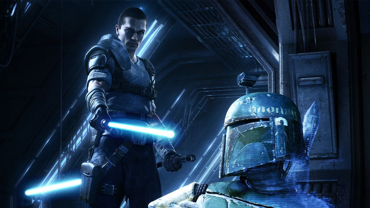 Star Wars The Force Unleashed videogames sci-fi jedi lightsaber wallpaper