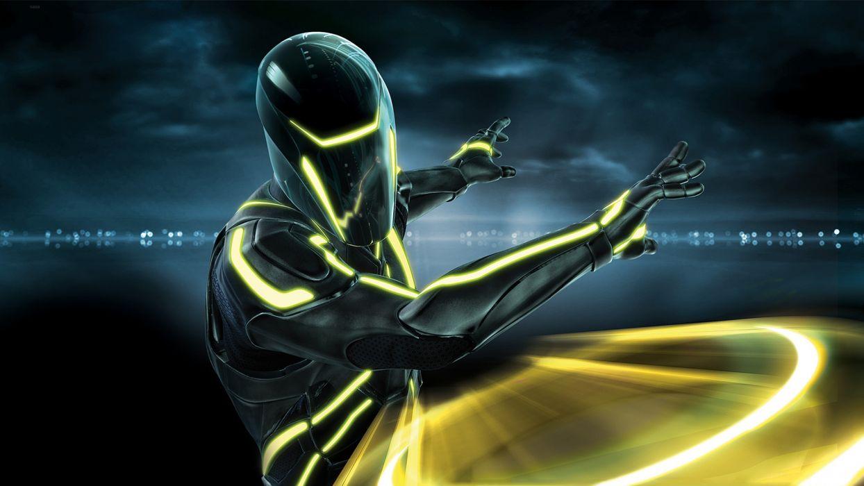 Tron Evolution videogames sci-fi   r wallpaper