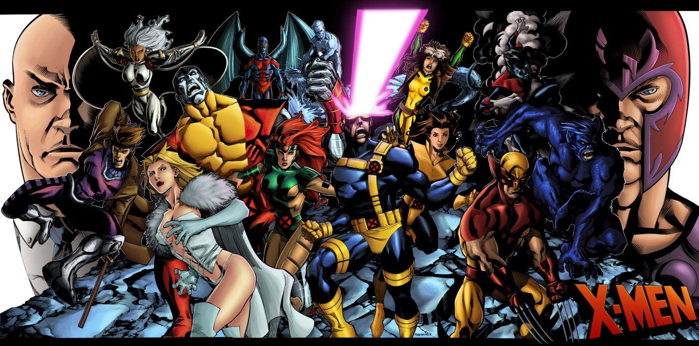 X-Men marvel comics superhero wallpaper