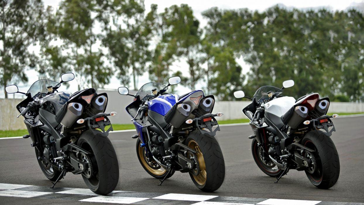 Yamaha R1 YZF sportbike superbike bike wallpaper
