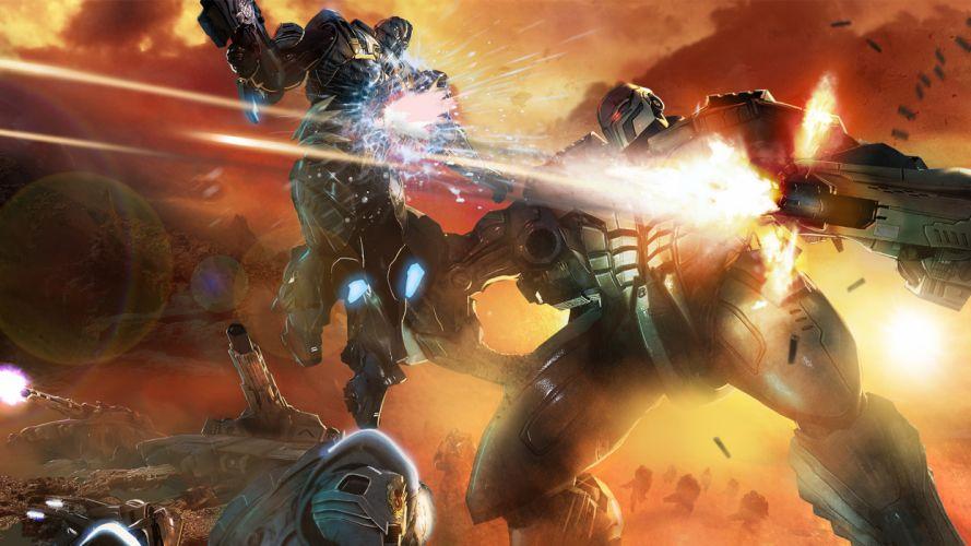 Section 8 sci-fi warrior v wallpaper