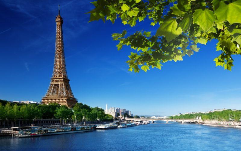 Eiffel Tower monument architecture rivers wallpaper