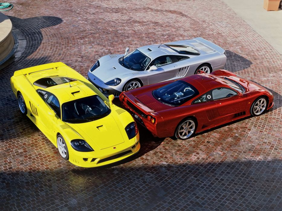 Saleen S7 supercar wallpaper