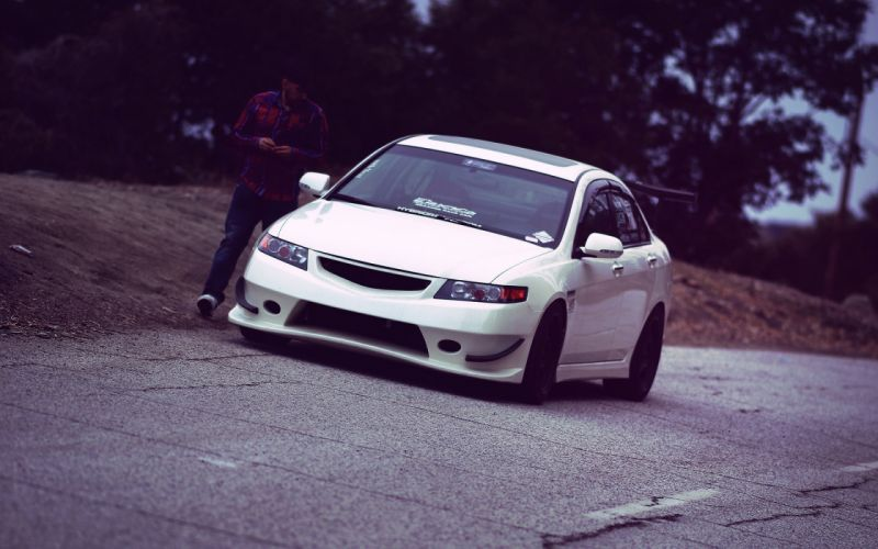 Acura TSX Honda tuning wallpaper