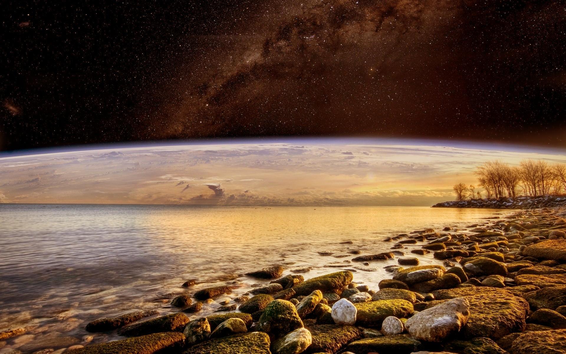 sci fi landscape alien planets - photo #19