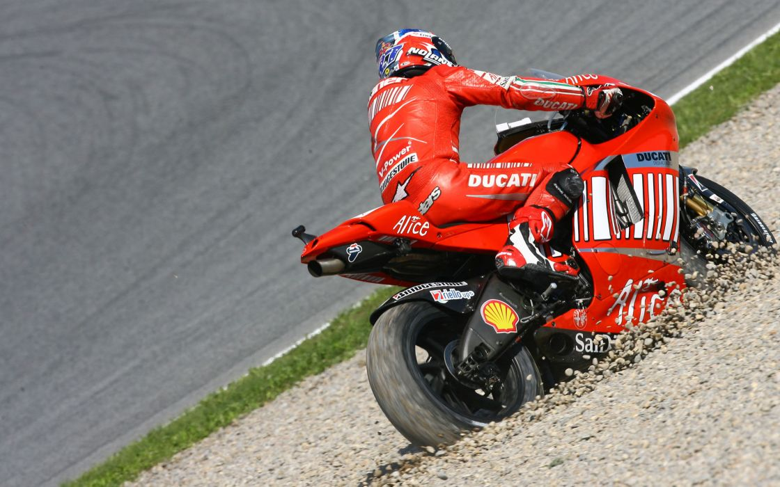 Ducati Sportbike racing wallpaper
