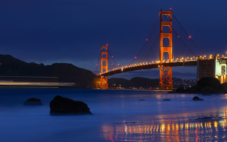 Good Wallpaper Night Golden Gate Bridge - fef3bb847cceb488781f979a4677e477  Trends-761077.jpg
