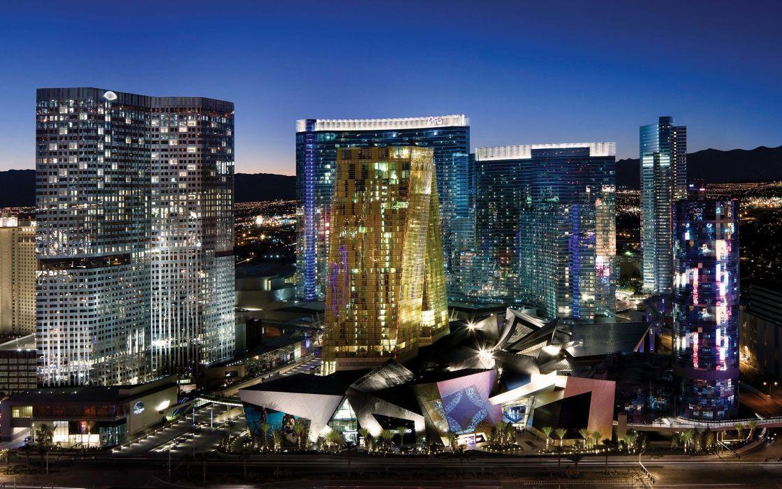 Las Vegas Buildings wallpaper