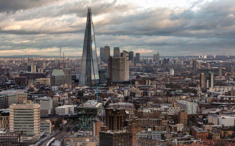 London Buildings skyscrapers wallpaper