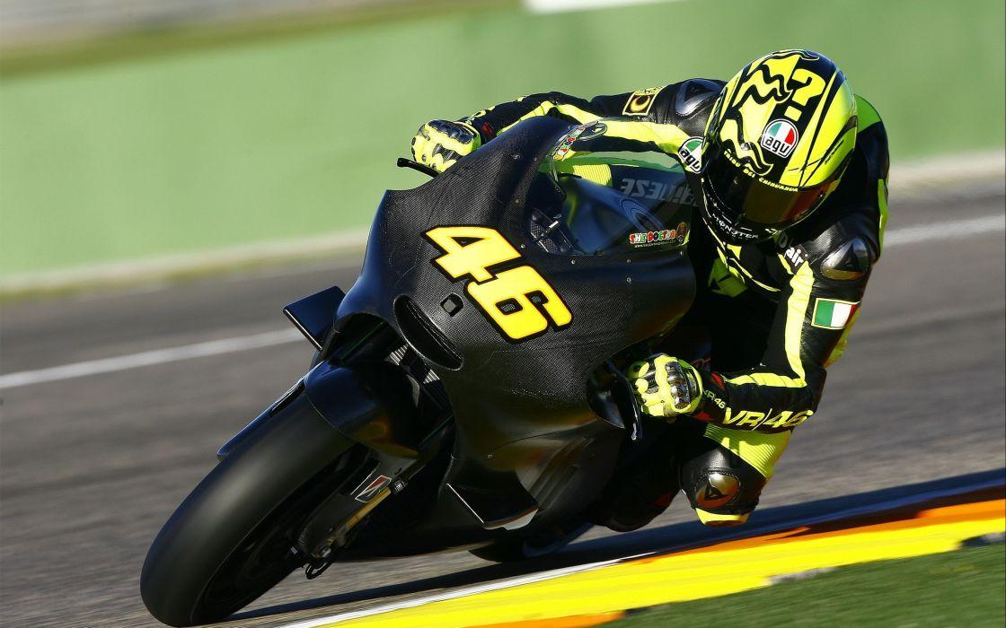 Sportbike Carbon Fiber Valentino Rossi Ducati wallpaper