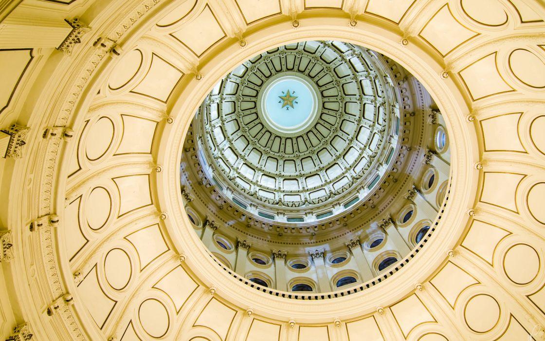 Texas Building Ceiling wallpaper