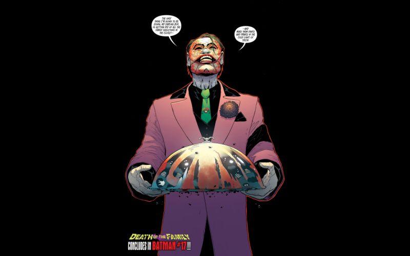 Batman Joker Platter Black DC comics wallpaper