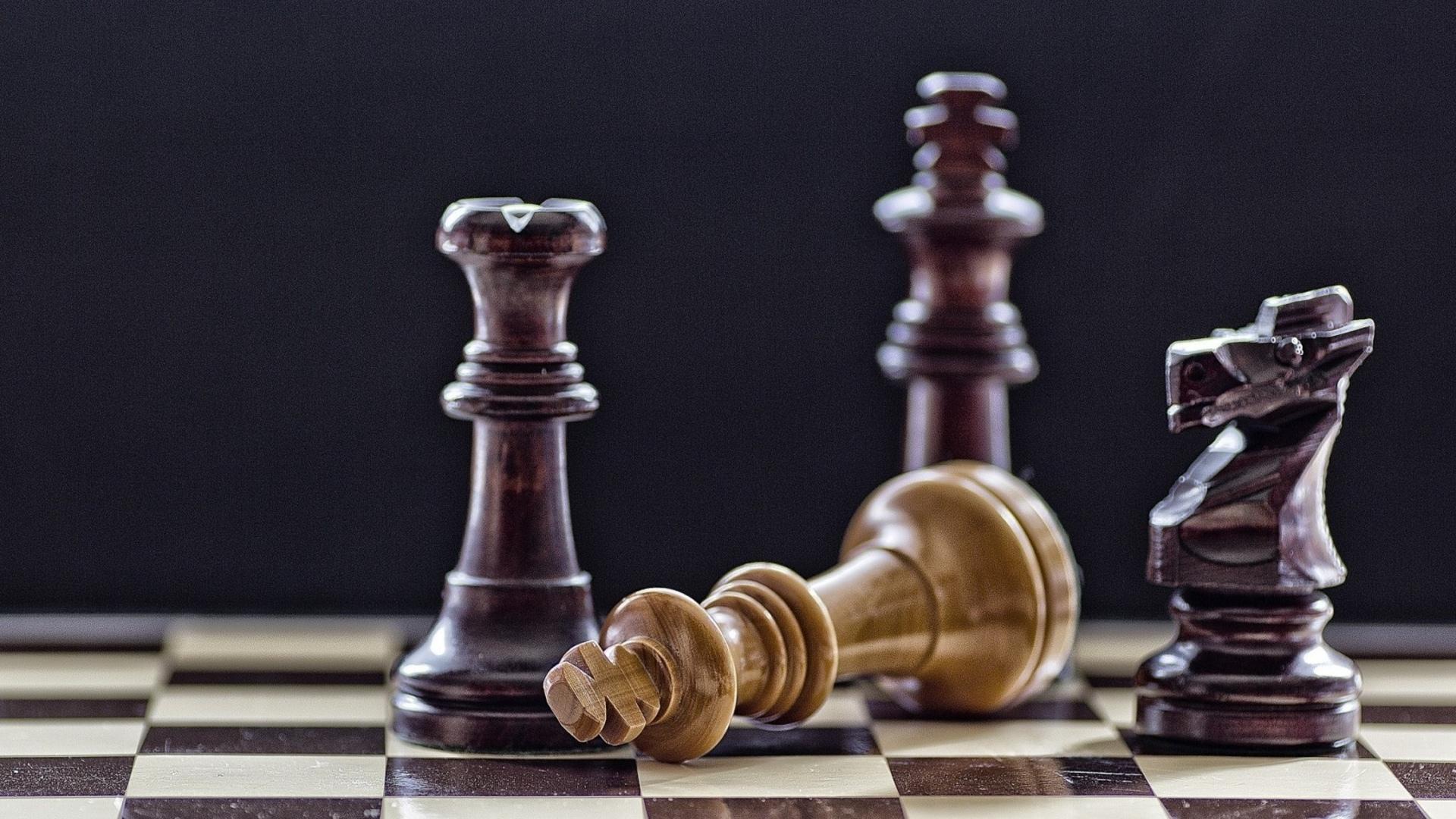 Chess Board Wallpaper 1920x1080 45368 Wallpaperup