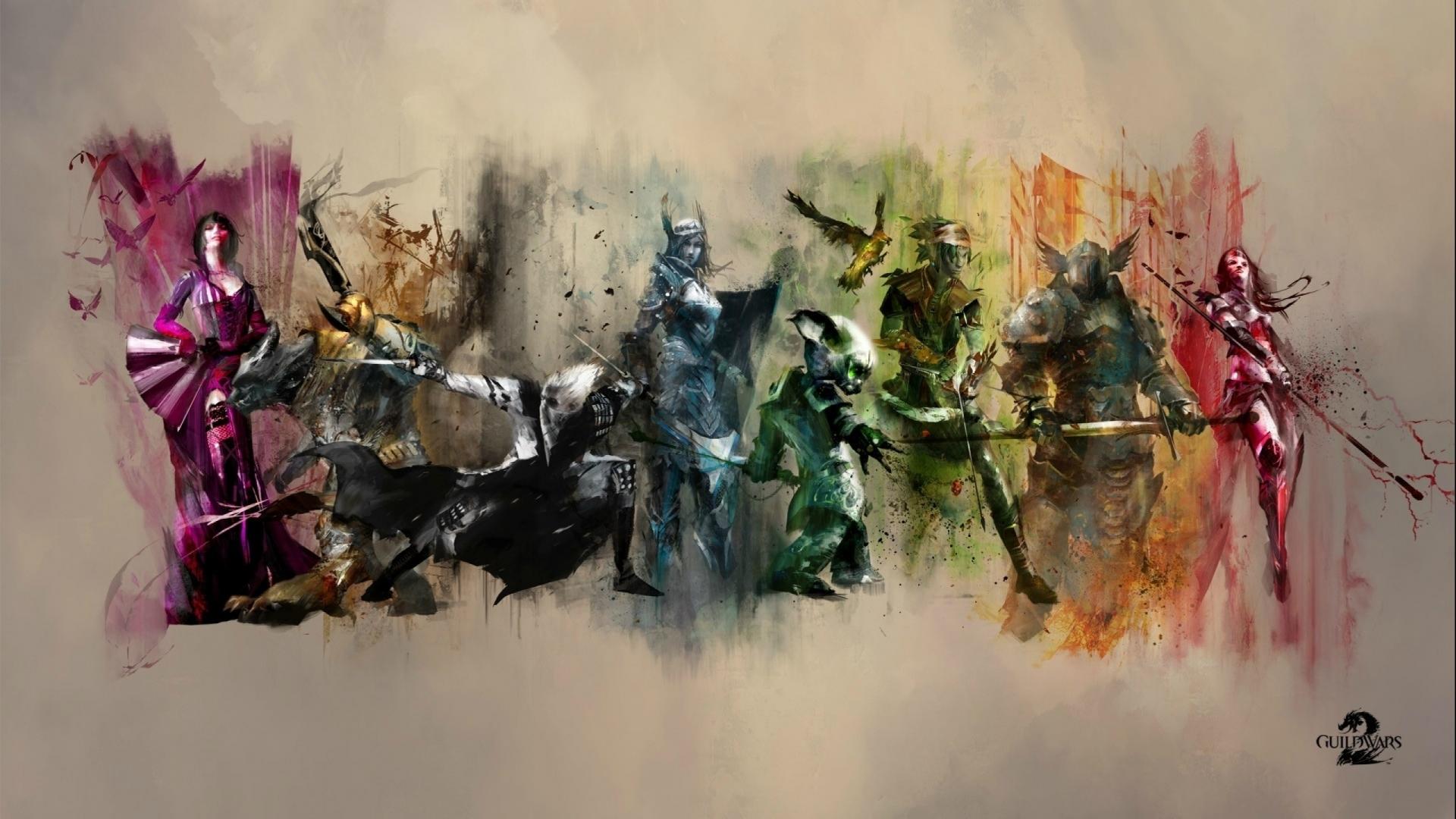 Guild Wars 2 Wallpaper 1920x1080 45443 Wallpaperup