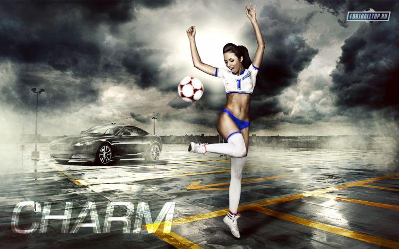 girls soccer dynamics sports football women females sexy babes y wallpaper