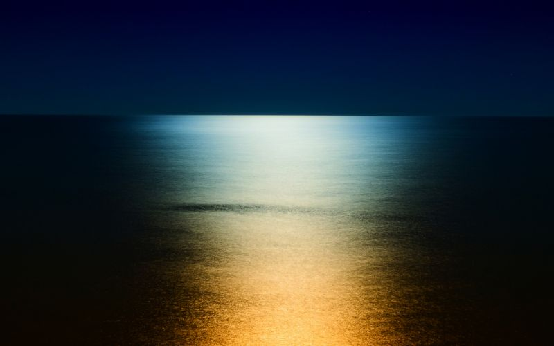 ocean sea reflection sunlight wallpaper