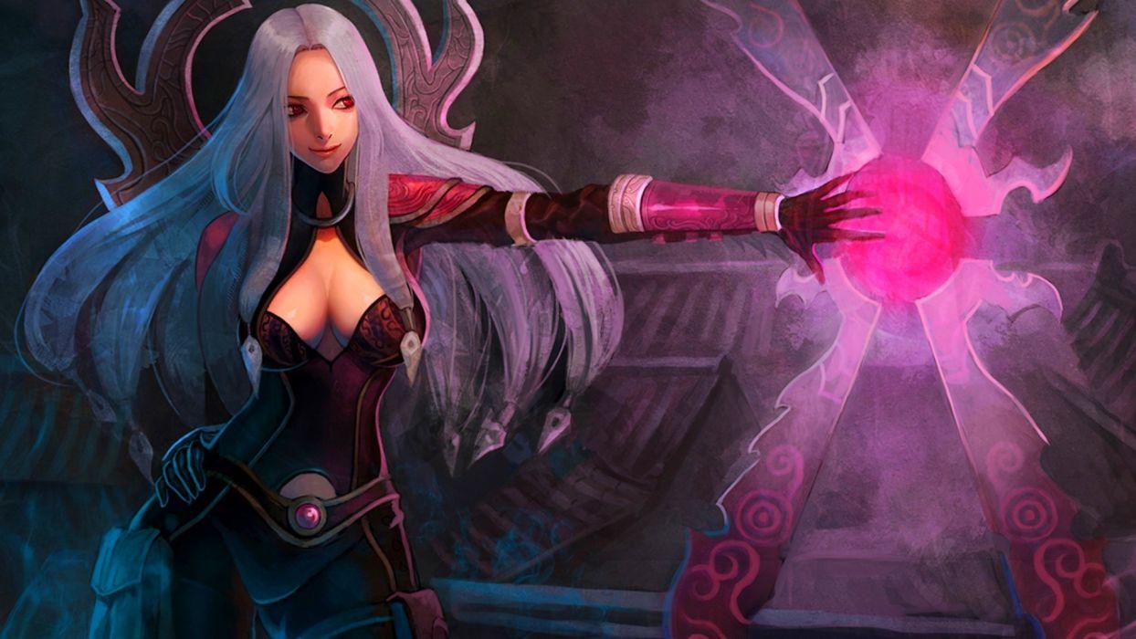 League of Legends Irelia girls wallpaper