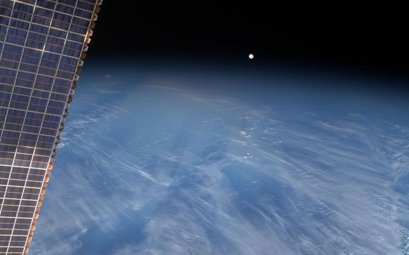 Moon Earth Planet wallpaper