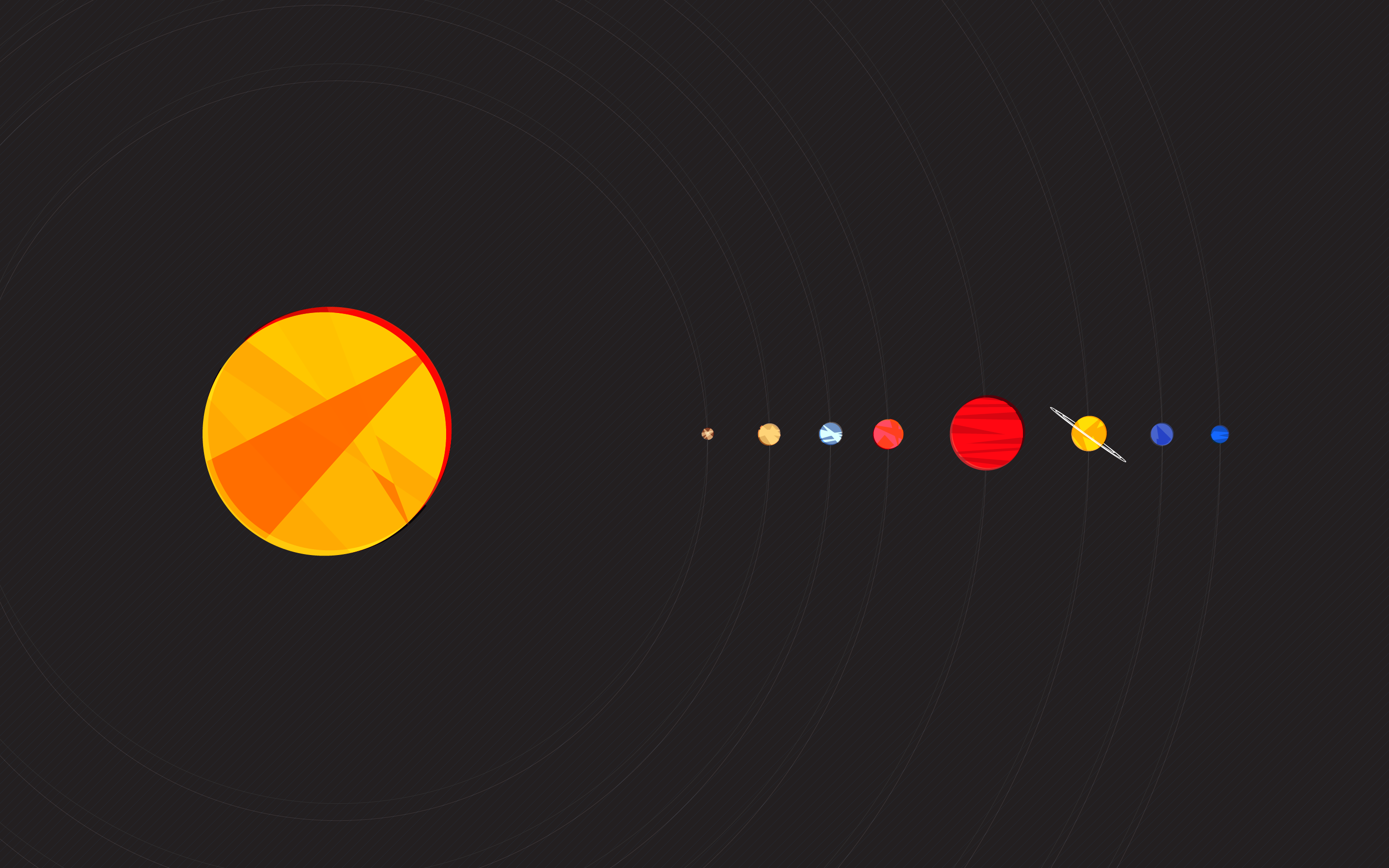 planets solar system wallpaper 1920x1200 - photo #25