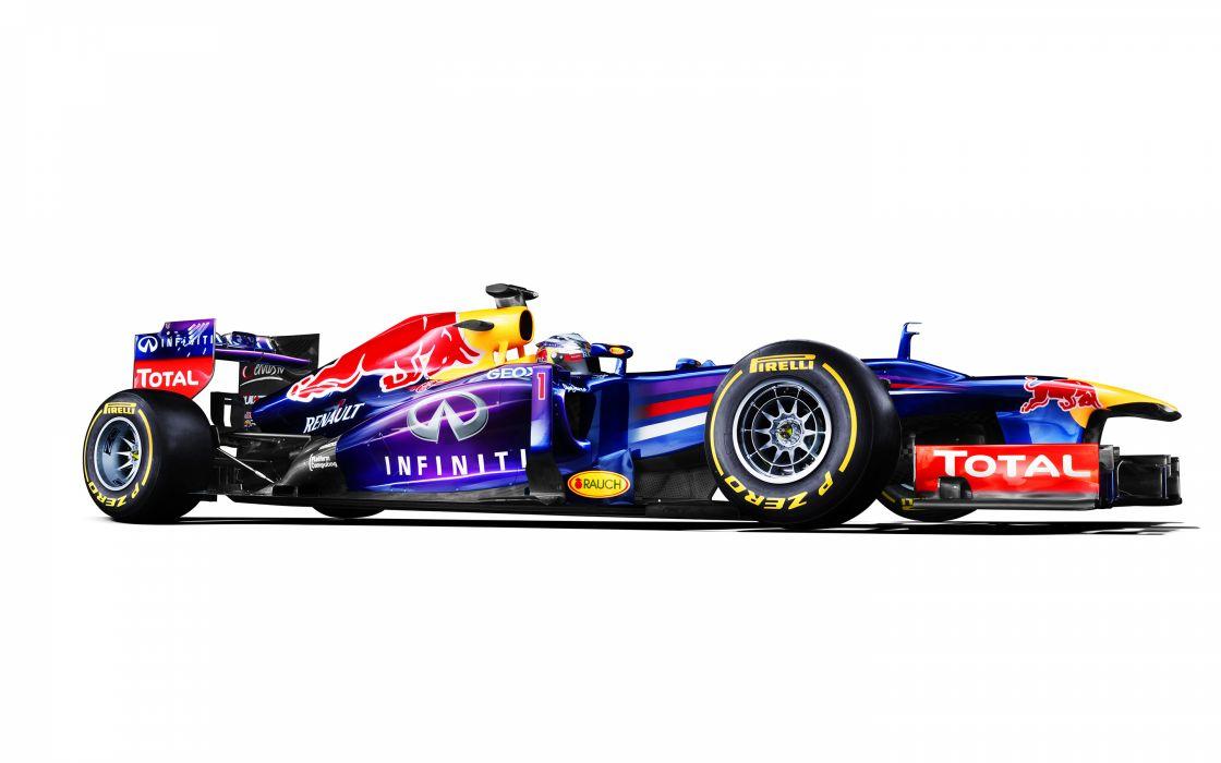 Race Car Formula One F1 White Red Bull wallpaper