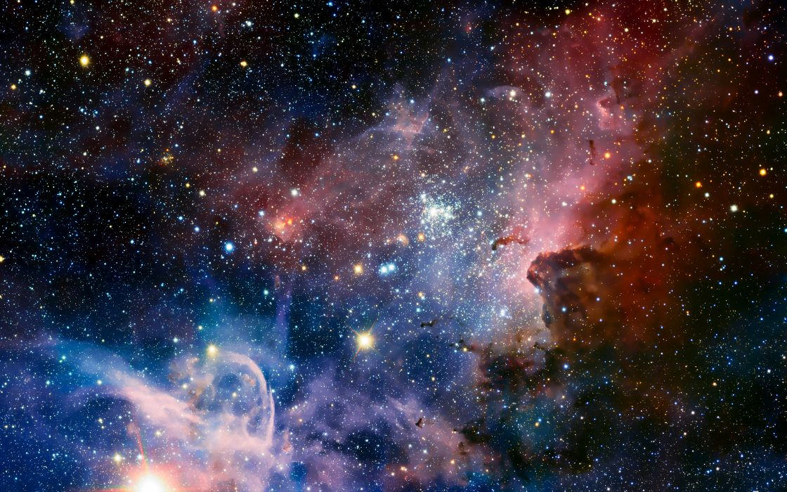 space nebula stars wallpaper