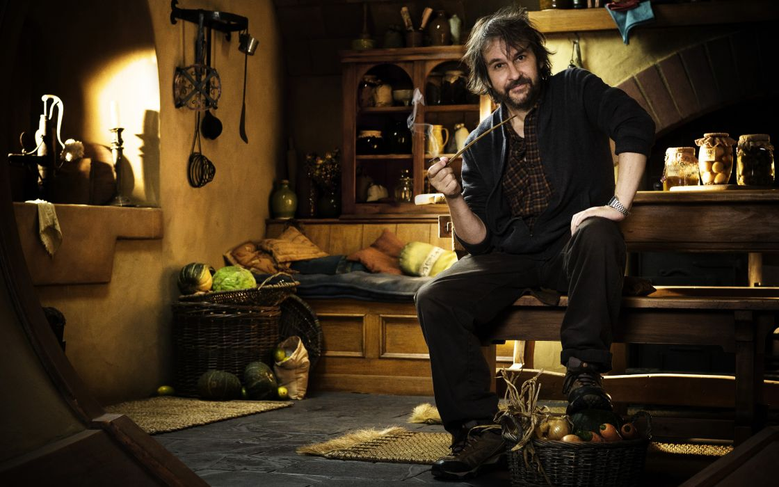 The Lord of the Rings The Hobbit Peter Jackson Pipe Smoking wallpaper