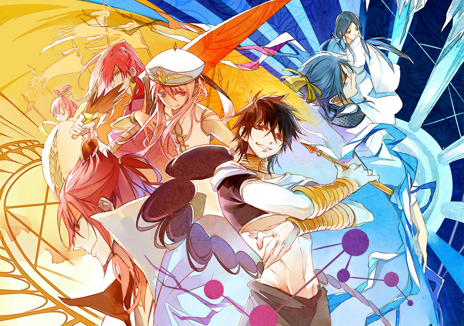 Magi The Labyrinth Of Magic V Wallpaper