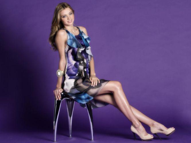 Miranda Kerr fashion model women females brunettes sexy babes wallpaper