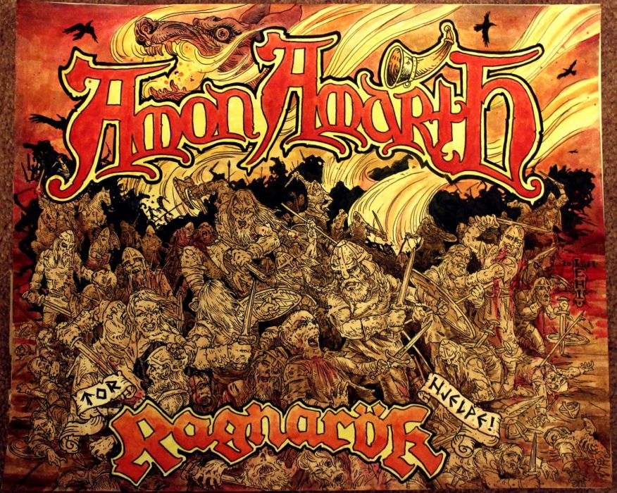 Amon Amarth      v_JPG wallpaper