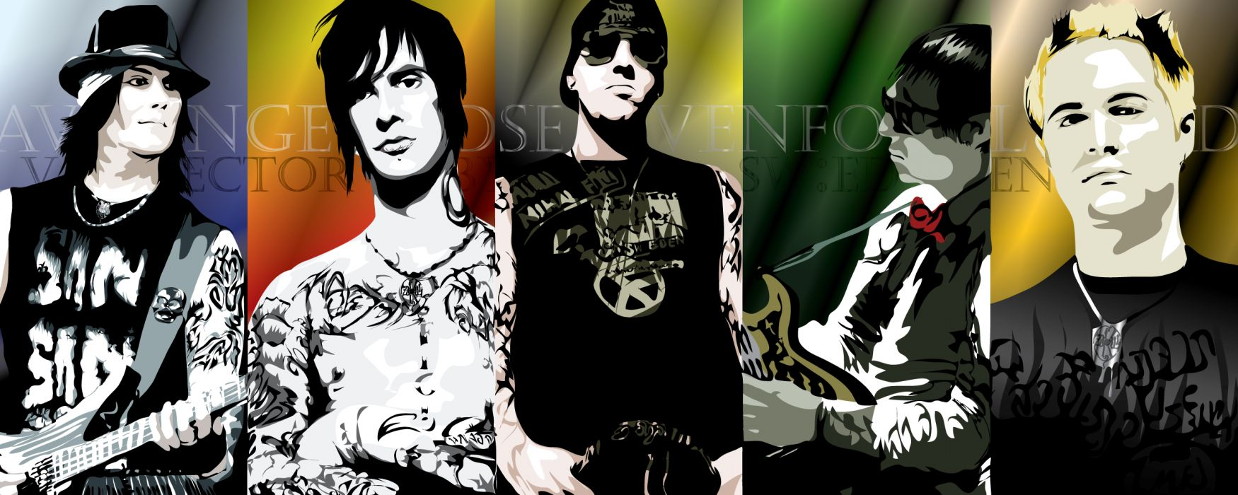 Avenged Sevenfold heavy metal rock      v wallpaper
