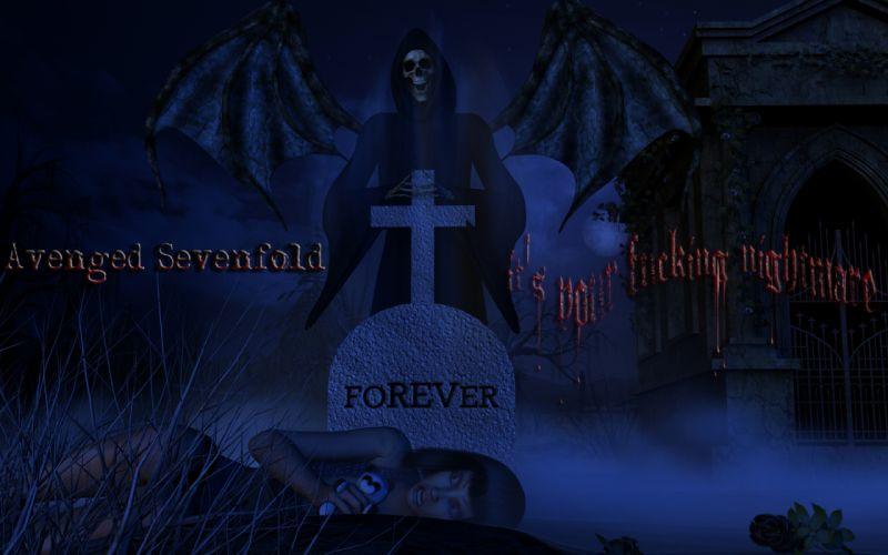 Avenged Sevenfold heavy metal rock dark g wallpaper