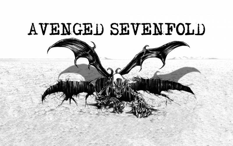 Avenged Sevenfold heavy metal rock dark b wallpaper