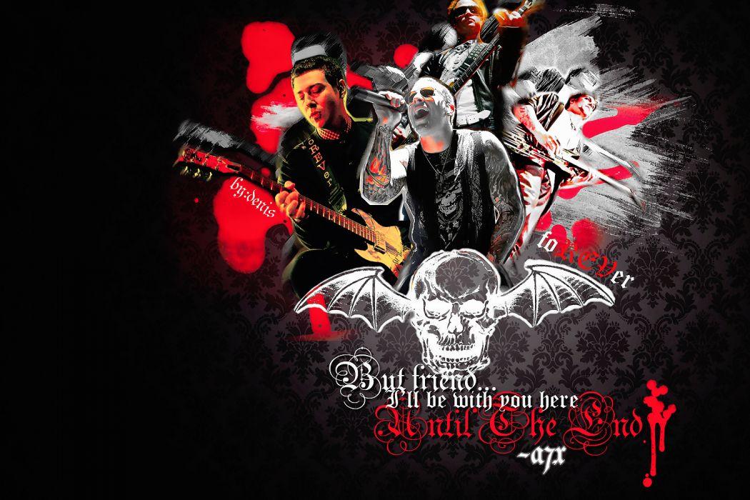 Avenged Sevenfold heavy metal rock dark      e wallpaper