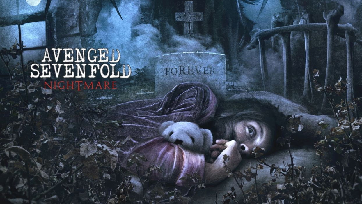 Avenged Sevenfold heavy metal rock dark  d wallpaper