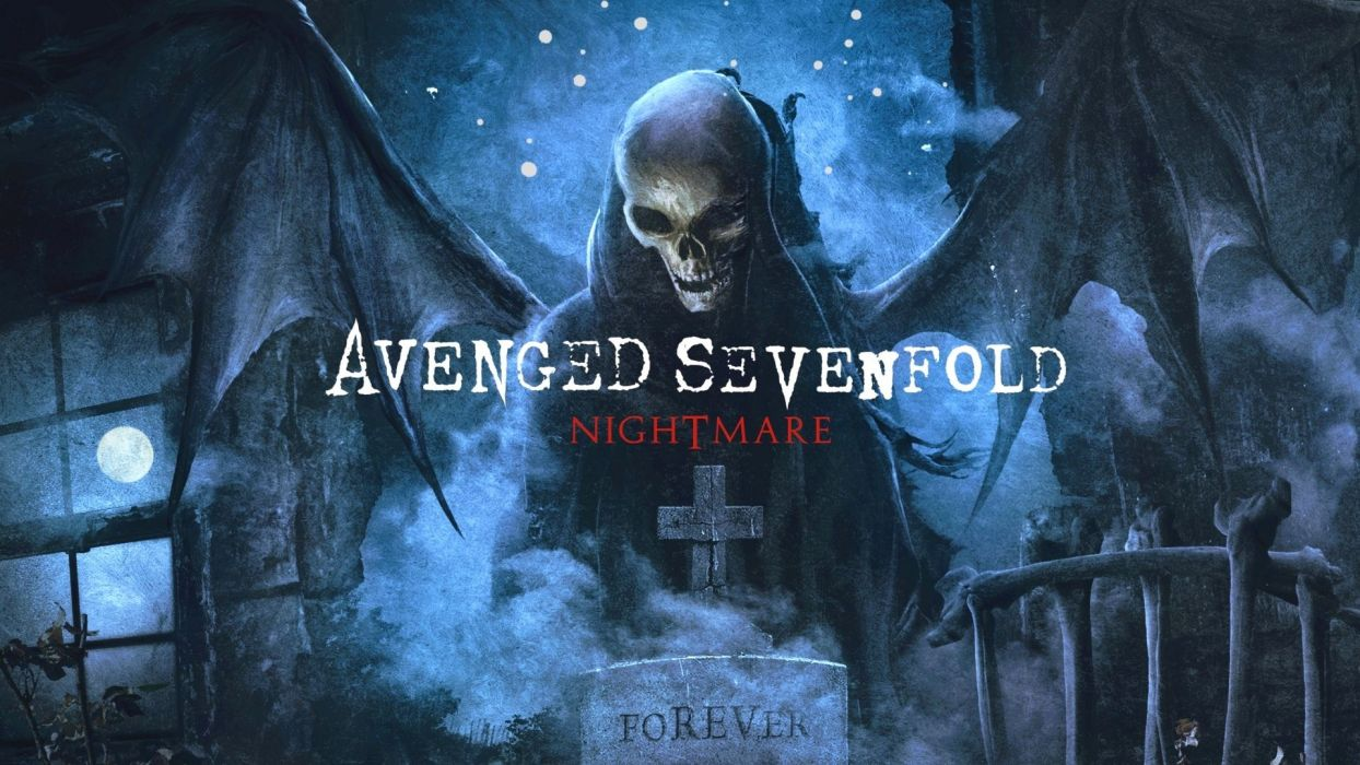Avenged Sevenfold heavy metal rock dark wallpaper
