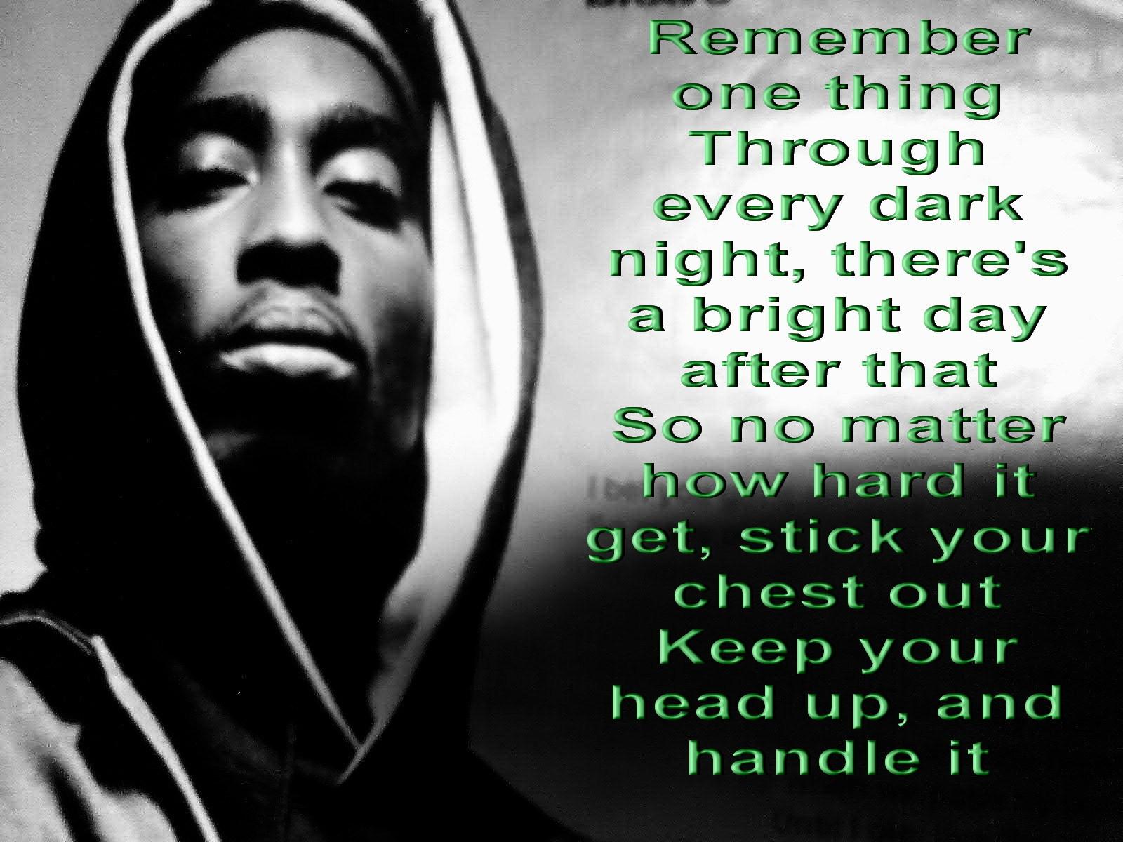 Tupac Rap Gangsta Text Quotes C Wallpaper