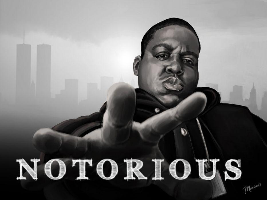 Biggie Smalls Rap Gangsta R Wallpaper