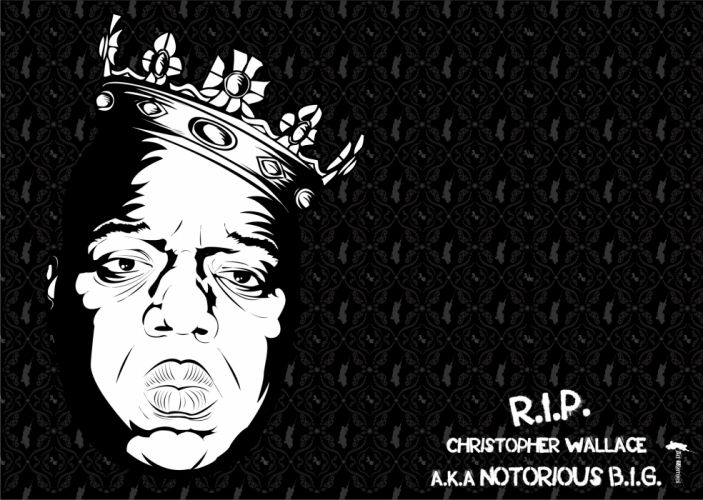 Biggie Smalls rap gangsta r wallpaper