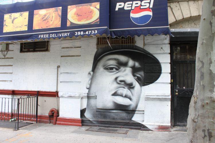 Biggie Smalls rap gangsta graffiti f wallpaper